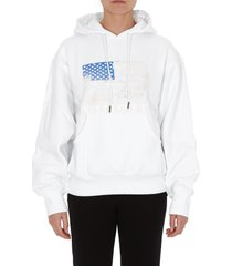 telfar flag hoodie