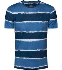 camiseta cuello redondo con tie dye slim fit para hombre 94922