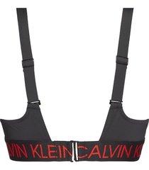 calvin klein bikini bralette - zwart