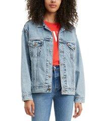 levi's dad trucker jean jacket