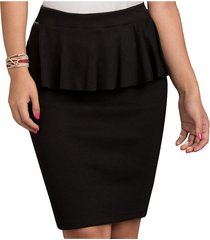 falda cony negro  para mujer croydon
