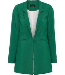 blazer lungo (verde) - bodyflirt