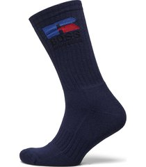 boss x russell athletic qs russell cc_ra underwear socks regular socks blå boss