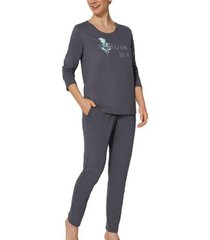 triumph lounge me cotton pyjama set * actie *
