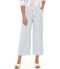 style & co petite micro-striped pants, created for macy's