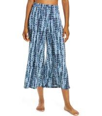 onzie sama crop wide leg pants, size medium in bondi at nordstrom