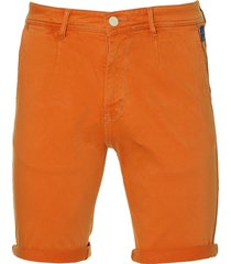 hensen short - slim fit - oranje