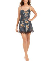 i.n.c. lace-trim chemise nightgown, created for macy's