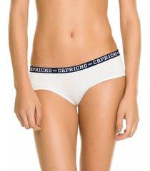 calcinha boneca branca capricho college - 520.021 capricho lingerie boneca branco