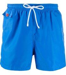 kiton short de natação reto - azul