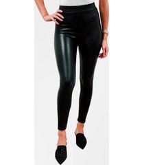 calza leggings eco cuero negra mujer mlk