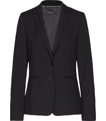 blazers woven blazer kavaj svart esprit collection