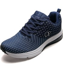 tenis running azul-blanco ocean pacific golin-h3