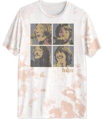 tie dye beatles men's graphic t-shirt