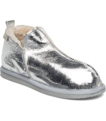annie shoes boots ankle boots ankle boot - flat silver shepherd