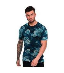 camiseta di nuevo flores fashion masculina