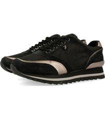 sneakers mujer gioseppo negro 41088n