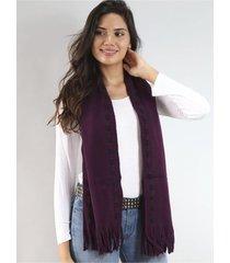 bufanda violeta spiga 31