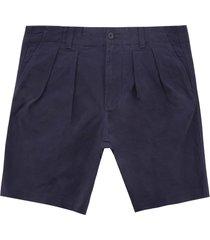 icon ivy pleat shorts - night sky mw0mw09644