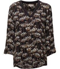 koa bl blouse lange mouwen blauw part two