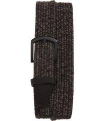 men's cuater by travismathew belt, size x-large - heather grey