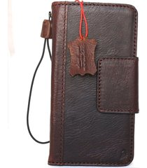 genuine leather case for samsung galaxy note 8 book wallet closure magnet cover