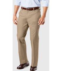 pantalón dockers new signature marrón - calce straight fit