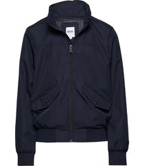 jacket outerwear jackets & coats windbreaker blauw boss