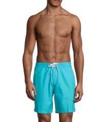 trunks surf + swim men's drawstring swim shorts - blue - size xl
