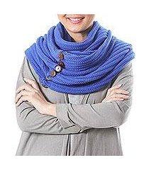 cotton convertible scarf, ' (thailand)