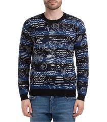 maglione maglia uomo girocollo mermaids