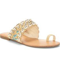women's jessica simpson abira slide sandal, size 6 m - beige