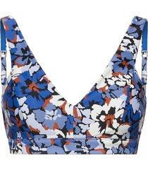thrift shop dd bra bikinitop blauw seafolly