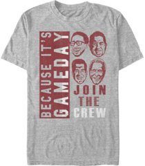 fifth sun men's because its game day short sleeve crew t-shirt