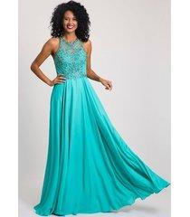 vestido bordado mahal