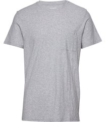 aspen tee 3420 t-shirts short-sleeved grå nn07