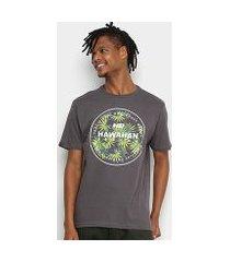 camiseta hd spike flora masculina