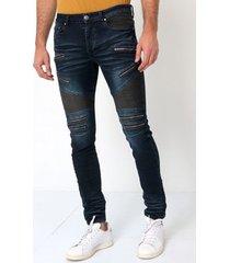 skinny jeans true rise biker jeans