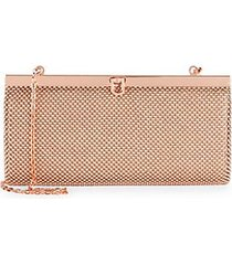 ball mesh convertible clutch