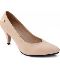 calzado dama ejecutivo tacon 5 1/2 nude 542675nude