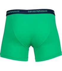 armani boxershort ea 2-pak groen-blue