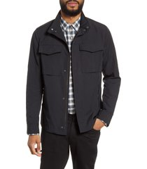 men's theory 'yost' canvas jacket, size small - blue