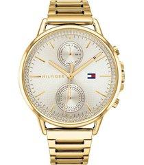 reloj tommy hilfiger 1781916 dorado -superbrands