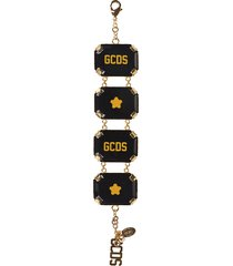 gcds logo detail bracelet