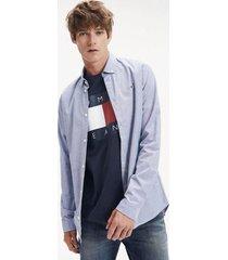 camisa manga larga tjm stretch oxford tommy jeans