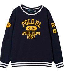ralph lauren blue sweatshirt