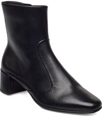shape squared 35 shoes boots ankle boots ankle boot - heel svart ecco