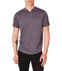 men's good man brand premium cotton t-shirt, size large - grey