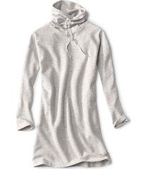 journey ruched-neck sweatshirt dress