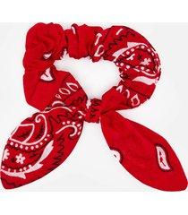 arizona love women's chouchou bandana scrunchie - red